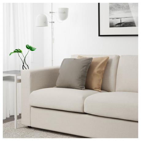 3-местный диван ВИМЛЕ с открытым торцом, Гуннаред бежевый фото 2