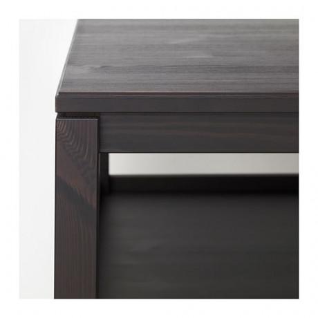 Журнальный стол ХАВСТА темно-коричневый фото 1